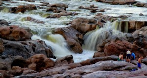 Ghum-Ghum falls on Orange river